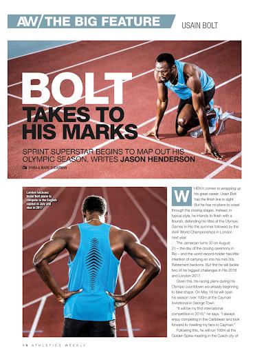 Athletics Weekly - screenshot