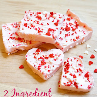 Easy Homemade 2 Ingredient Strawberry Fudge