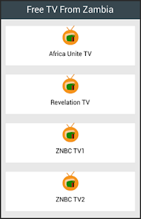 Free TV From Zambia - screenshot