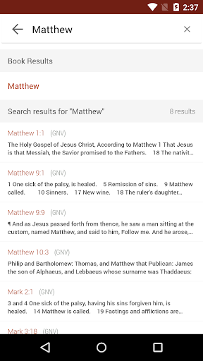Bible Gateway screenshot 3