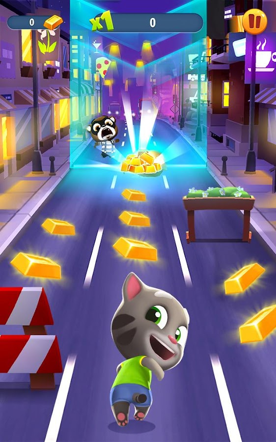 Talking Tom Gold Run Screenshot 10