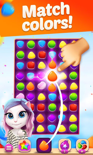 Talking Angela Color Splash Apk Download Free for PC, smart TV