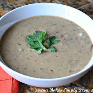 Cream Of Mushroom Soup From Scratch Gluten Free