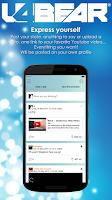 Screenshot of u4Bear Gay Bear Social Network