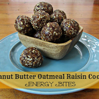 Peanut Butter Oatmeal Raisin Cookie Energy Bites