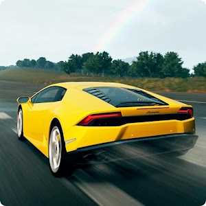 Endless racing arcade. Drive your sport car through highway traffic on route 8. APK Icon