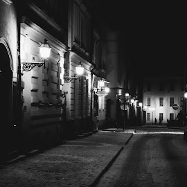 by Pavel Vlček - Black & White Buildings & Architecture