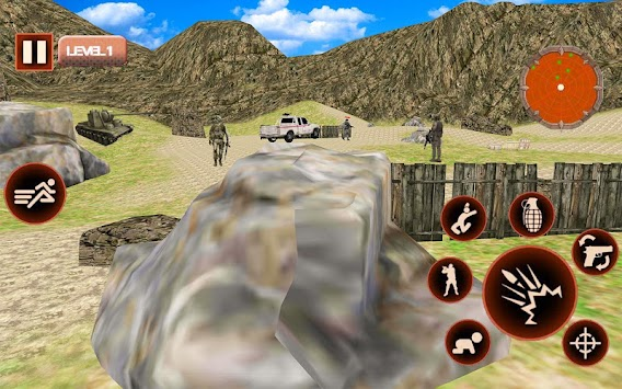 Counter Terrorist Killer Army Combat Mission War apk screenshot