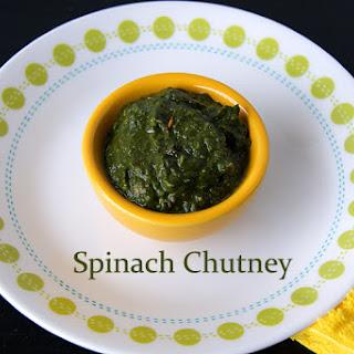 Spinach Chutney Recipes