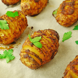 Baby Hasselback Potatoes