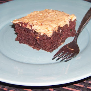 German Chocolate Zucchini Cake ? Gluten Free