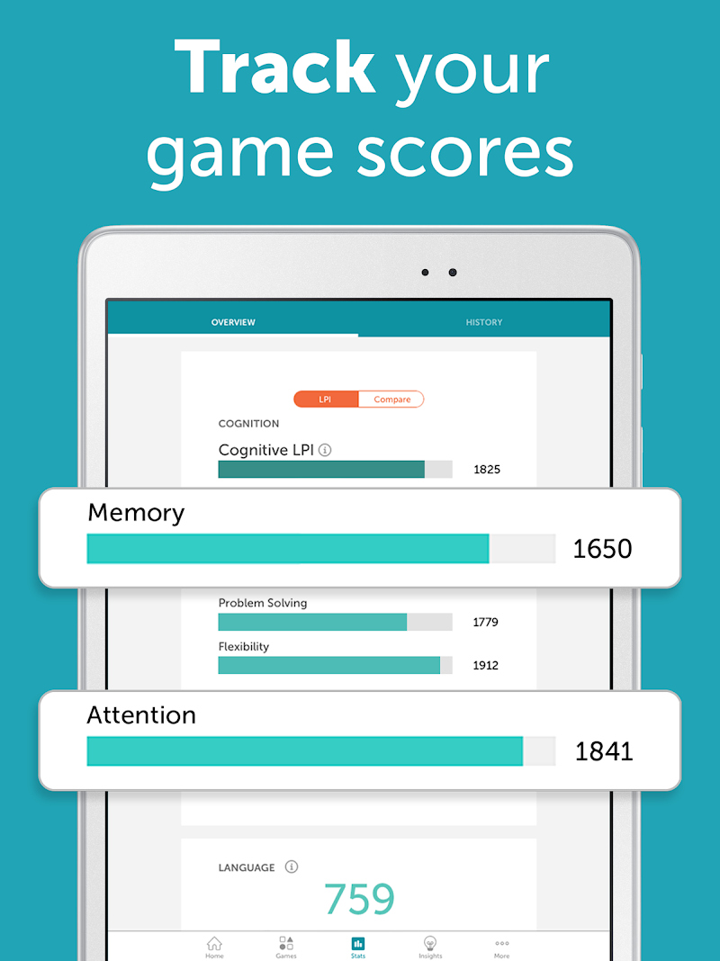 Lumosity: #1 Brain Games & Cognitive Training App Screenshot 9