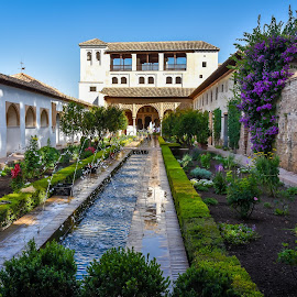 Granada by Mike Hotovy - City,  Street & Park  City Parks