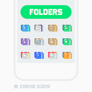 Cornie Icons Screenshot