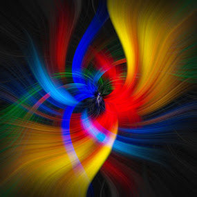 by D. Jan Anderson - Digital Art Abstract