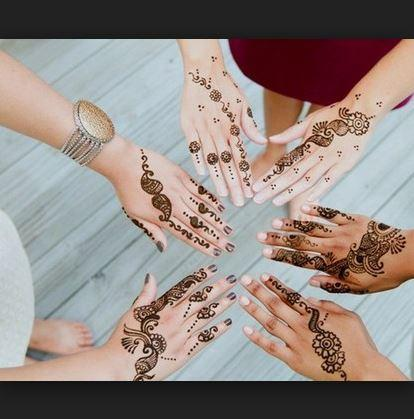 android DIY Henna Mehndi Designs Screenshot 1