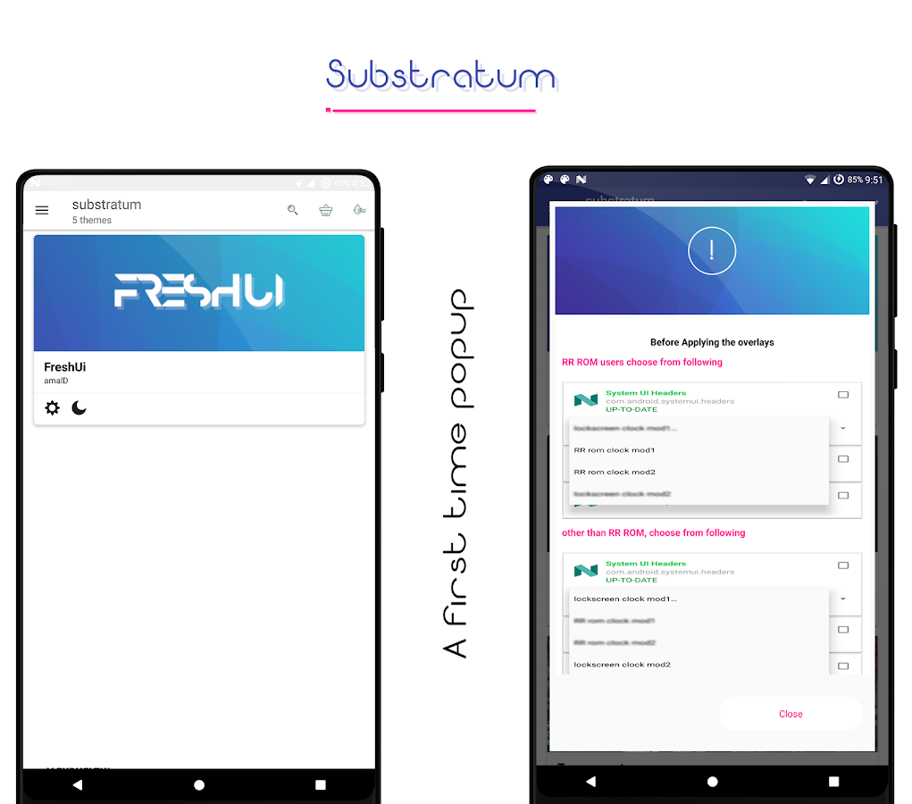 FreshUi Light Substratum Theme Screenshot 2