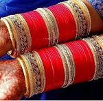 Indian bridal chura