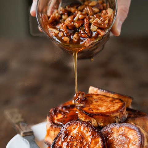 Melting Sweet Potatoes (with Maple-Pecan Sauce)