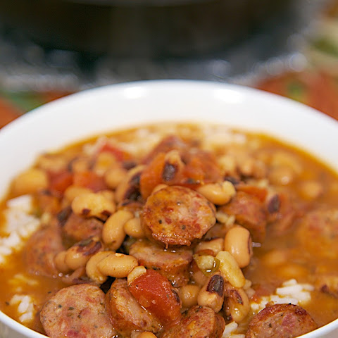 Black Eyed Pea and Smoked Sausage Soup