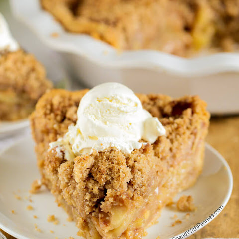 The Best Apple Crumb Pie Ever!