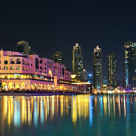 Souk at Night by Braggart Reigh - Buildings & Architecture Office Buildings & Hotels ( city parks, nightshot, buildings, architectural detail, long exposure, other exterior, architecture, cityscape, hotels )