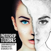 Download Android App Tutorial of Photoshop for Samsung