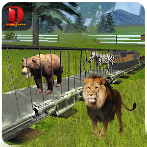 Zoo Animals : Transport Train