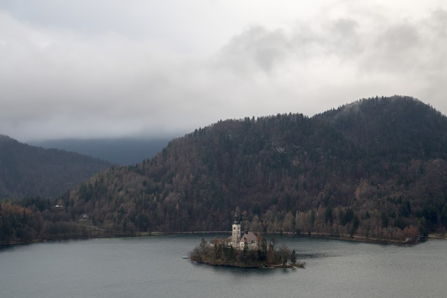 Lake of Bled by Pietro Ebner - Landscapes Travel ( church, slovenia, bled, lake )
