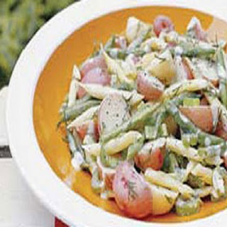 Bean-Potato Salad