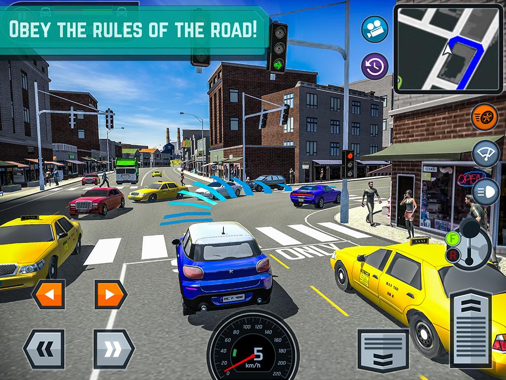 Car Driving School Simulator Screenshot 7
