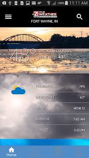 Storm Team Weather screenshot for Android