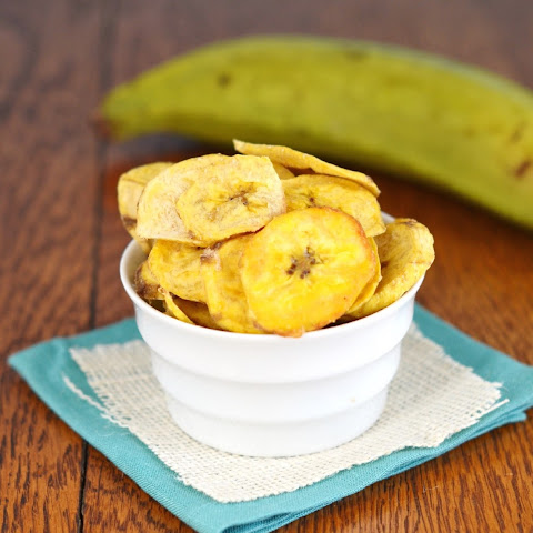 Crispy and Crunchy Paleo Plantain Chips