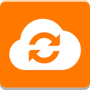 Cloud Orange Icon