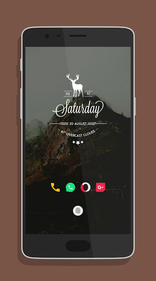 minimo kwgt Screenshot 10