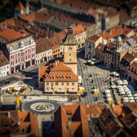 Brasov,Romania. by Bogdan Vasilca - Novices Only Landscapes ( sony, old city, tampa, summer, romania, medieval, brasov,  )