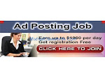Genuine Ad Posting jobs from Home 100% Risk Free