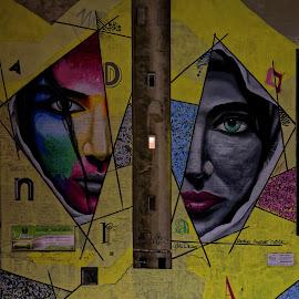 Grafiti 2 by Gabriel Konde - City,  Street & Park  Street Scenes ( street, grafiti, streetart,  )