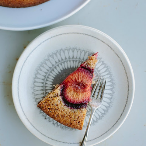 Plum + Toasted Hazelnut Cake