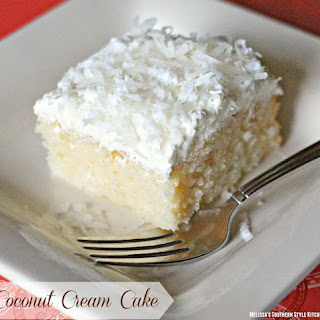 Coconut Cream Cake With Cake Mix Recipes