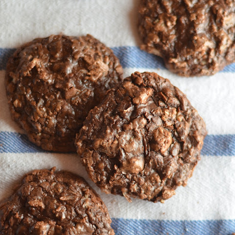 Chocolate Coconut Pecan Cookies