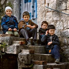 Company by Andrija Vrcan - Babies & Children Children Candids ( street, children, companions )