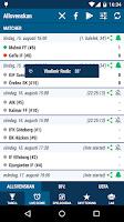 Screenshot of Allsvenskan