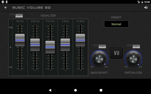 Music Volume EQ - Sound Bass Booster & Equalizer screenshot 12