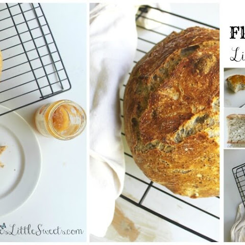 No-Knead Flaxseed Bread