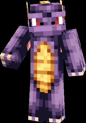 #spyro | Nova Skin  Spyro Minecraft Skin