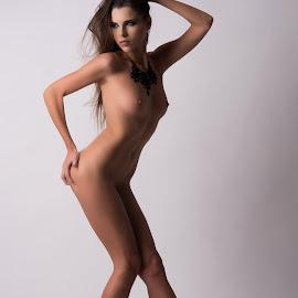 Nude on Vogue by Tomas Fensterseifer - Nudes & Boudoir Artistic Nude ( erotic, studio, nude, woman, slip )