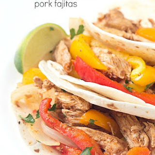 Crockpot Pulled Pork Fajitas