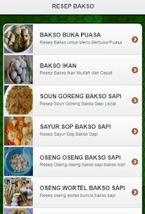 Resep Bakso - screenshot