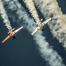 SMOKIN by Russell Clarke - Transportation Airplanes